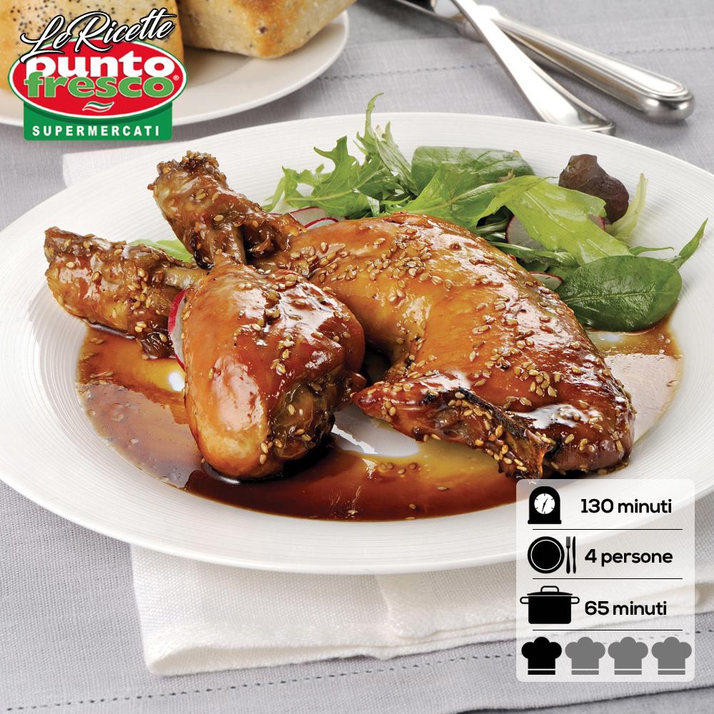 Cosce di pollo al sesamo punto fresco supermercati for Volantino bricofer marsala